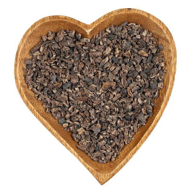 Kakaobohnen (gehackt und geröstet)
