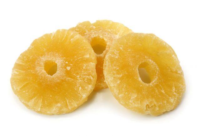Ananasringe kandiert
